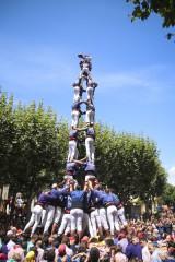 Diada castellera de Les Santes 2018
