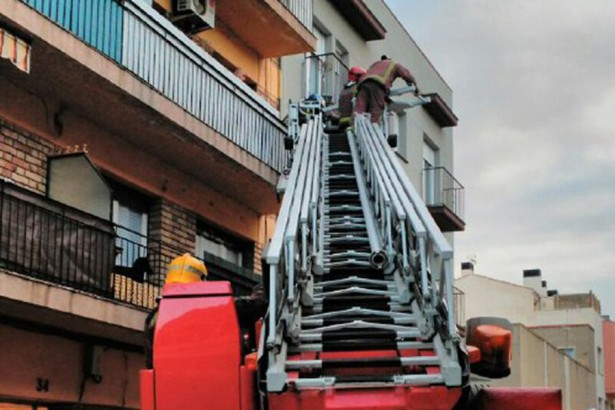 Incendi carrer Fortuny