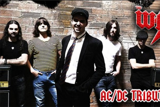 Cultura 2018, the wires-tributo acdc