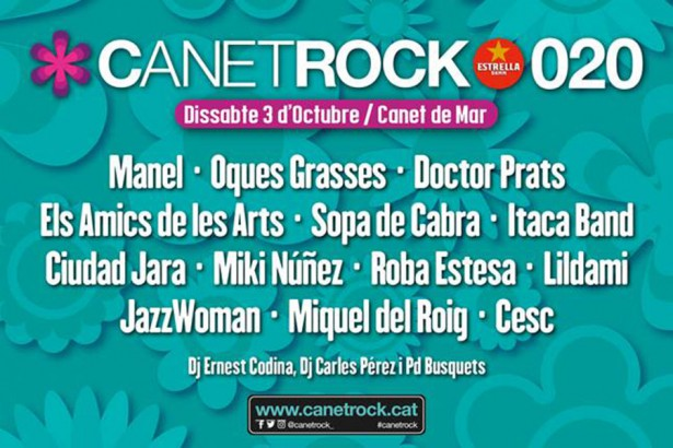 Canet Rock posposat